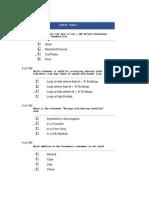 TAW10 ABAP Certification Test Part 1