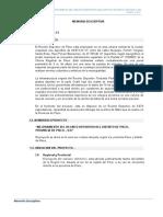 """EXPEDIENTE TECNICO """"MEJORAMIENTO DEL RECINTO DEPORTIVO DEL DISTRITO DE PISCO, PROVINCIA DE PISCO – ICA"""""""