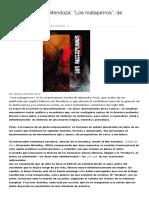 Novela social en Mendoza
