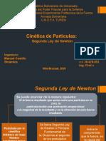 Dinámica Cinética de Partículas Segunda Ley de Newton