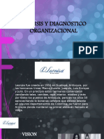 ANÁLISIS Y DIAGNOSTICO ORGANIZACIONAL de una empresa colombiana