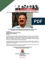02abr2020 - Comité Central - Al Frente Sandinista de Liberación Nacional, Ante El Fallecimiento de Jacinto Suárez
