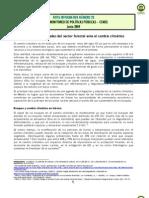 NOTA 23 Sector Forestal y Cambio Climatico