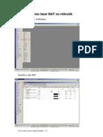 Manual de configuração Mikrotik