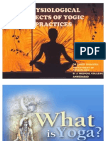 physiological Effect of Yogic Practicies