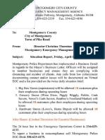 Montgomery County order