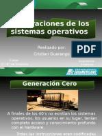 Generaciones de Los s.o. (Sistemas Operativos