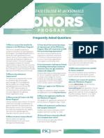 Honors FAQ 20192020 as of 10092019