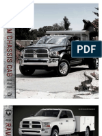 2011 Ram Chassis Cab Trucks Specs