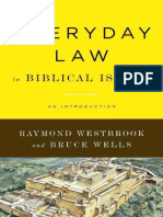 Everyday Law in Biblical Israel – An Introduction