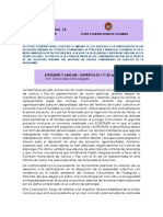 Corte Constitucional - Comunicado No. 14 del 12 de marzo de 2020