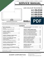 SharpLC-37LE320E
