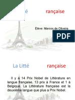 La Literature Française