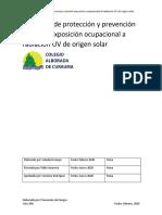 Programa de protección y prevención contra la exposición ocupacional a radiación UV de origen solar.docx
