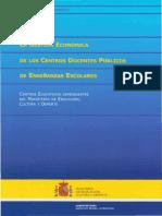 Gestión Económica de Centros Educativos