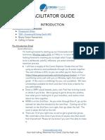 Crossroads Career Facilitator Guide - APRIL 2020