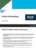 Ontario COVID-19 Technical Briefing