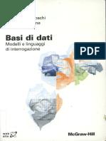 Basi di dati Modelli e linguaggi di interrogazione