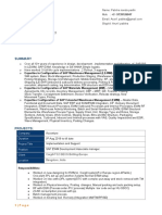 SAP WM & EWM Resume_Pabitra Padhi