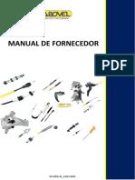 Manual  do Fornecedor