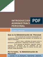 P1_CONCEPTOS, OBJETIVOS, RESPONSABILIDADES DE LA ADMINISTRACION DE PERSONAL.pptx