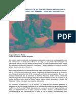 Falso, La Ley de Protección Policial No Genera Impunidad y Sí Permite Prisión Preventiva - Augusto Linares Muñoz