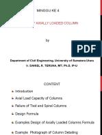 minggu ke 4 Design of axially loaded short column