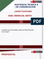 Planificación curricular-Orientaciones