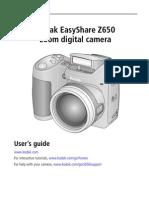 Z650 Camera Manual