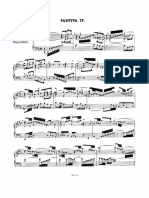 Partita de Bach (allemande)
