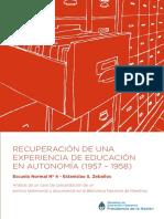 RECUPERACIÓN DE UNA EXPERIENCIA DE EDUCACIÓN EN AUTONOMÍA (1957 – 1958).pdf