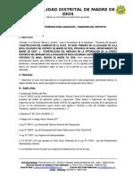 TDR LIQ. FINANC.  - COMEDOR  Y MERCADO