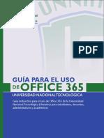 Guía didáctica Office 365 – UNNATEC