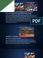 Herencia de la cultura africana---Cultura Dominicana
