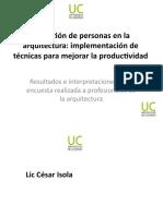 La gestión de personas en Estudios de Arquitectura (Mendoza - Argentina)