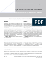 Dialnet-ElMedicoYLaRelacionConLaIndustriaFarmaceutica-4175687