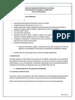 GFPI-F-019_Formato_ GUIA 15 implementar la estructura de la red de acuerdo con un diseño preestablecido a partir de normas técnicas internacional