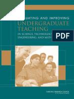 Evaluating and improving undergraduate teaching.pdf