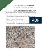 Análisis de Impacto Urbano  del Proyecto