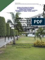 Manual para la Elaboración, Presentación y Evaluación del TG y TD de los Programas de Postgrado.pdf