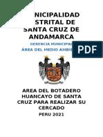 AREA DE BOTADERO