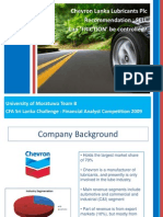 Chevron Presentation Slides