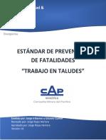 05 Estándar de prevención de fatalidades de trabajo en taludes Rev.1