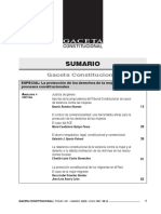 Sumario-Gaceta Constitucional N.º 147