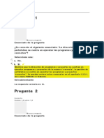 Evaluación clase 1 DIPLOMADO