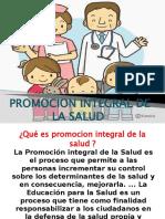 PROMOCION INTEGRAL DE LA SALUD