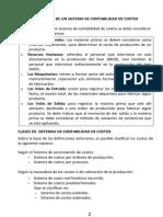 1. SISTEMA DE CONTABILIDAD DE COSTOS
