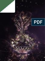 Ficha Com Design Aprimorado de Mago- A Ascensão