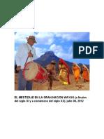 EL MESTIZAJE EN LA GRAN NACION WAYUU
