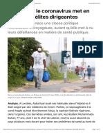 En Afrique, le coronavirus met en danger les élites dirigeantes.pdf